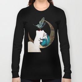 Butterfly Kiss Art Deco Remix Long Sleeve T-shirt