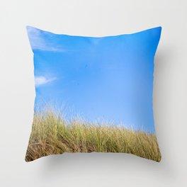 Sand Dune & Sky Throw Pillow