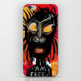 Slave no more iPhone Skin