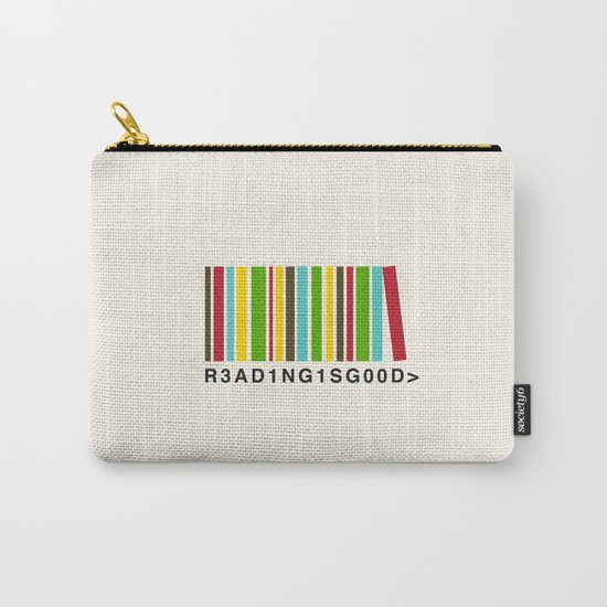 Reading is good Carry-All Pouch