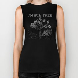 The Mysteries Of Joshua Tree Biker Tank