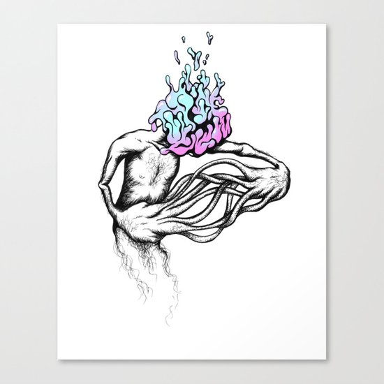 Gathering My Thoughts for the Night Canvas Print