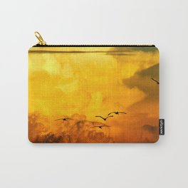 Flight at the Golden Hour Carry-All Pouch