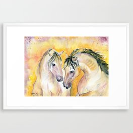 Forever Friend Framed Art Print