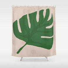 Monstera Deliciosa Shower Curtain