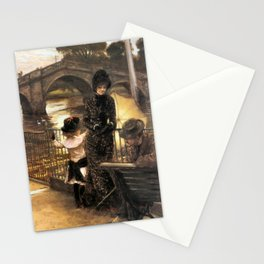 Vintage Art By the Thames at Richmond Stationery Cards