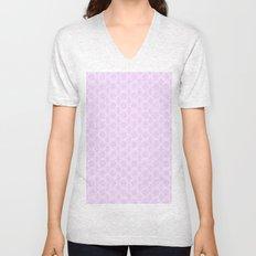 Honeycomb Doily  Unisex V-Neck