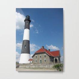 Fire Island Lighthouse Metal Print
