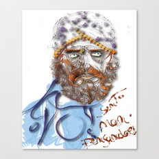 Mustafa' Canvas Print