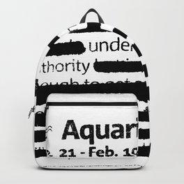 Aquarius 1 Backpack
