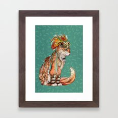 Witch Cat Framed Art Print