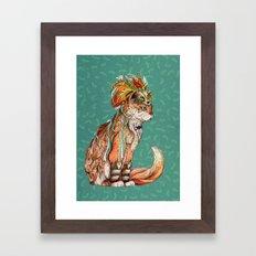 Witch Cat Framed Art Print