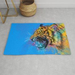 Angry Tiger Rug