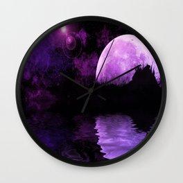 Celestial Dreams I Wall Clock