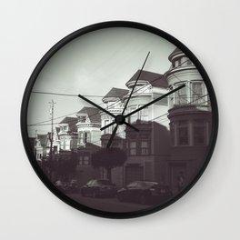 San Francisco Streets Wall Clock