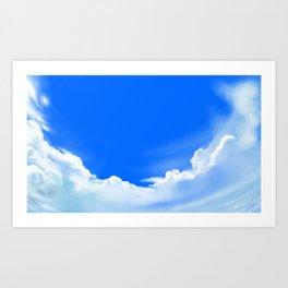 Bright Skies Art Print