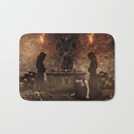 The Lord of Death Bath Mat