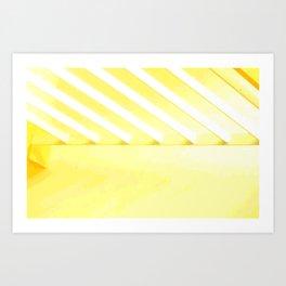 Desert Rays Art Print