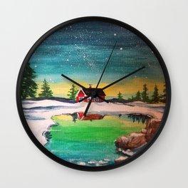 Nordic Sky Wall Clock