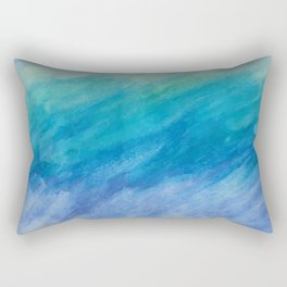 Beautiful Briny Sea Rectangular Pillow