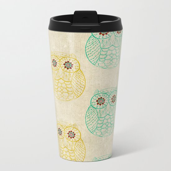 Owl Always Love You Metal Travel Mug