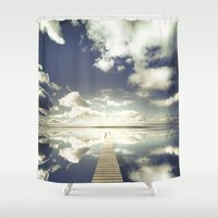 outdoor Shower Curtains featuring Vanity by HappyMelvin