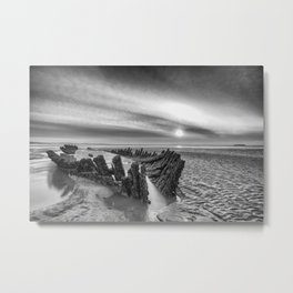 The SS Nornen Metal Print