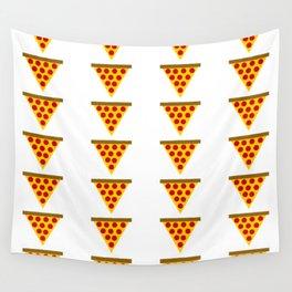 Cartoon Pizza Wall Tapestry