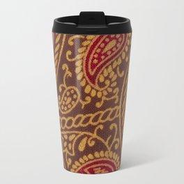 Arabian Nights in Red and Gold Travel Mug