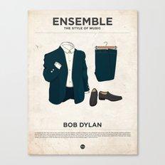 Ensemble - Bob Dylan Canvas Print