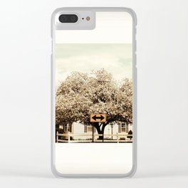 Efforts and Courage are Not Enough without Purpose and Direction. J.F.Kennedy Clear iPhone Case