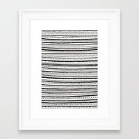 lace Framed Art Prints featuring Lace by Anita Ivancenko