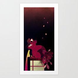 Kitsune no Kompanion Art Print