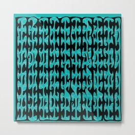 Color abstract original print Metal Print