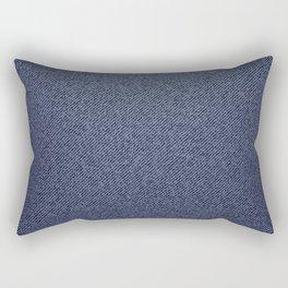 Jeans blue pattern Rectangular Pillow