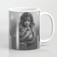 hermione Mugs featuring Hermione by AlchemyArt
