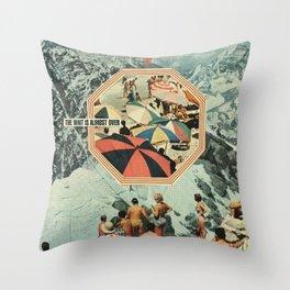 Start of Summer Throw Pillow
