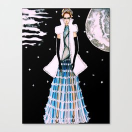 Ethereal Beauty Fashion Illustration By James Thomas Ryan Canvas Print
