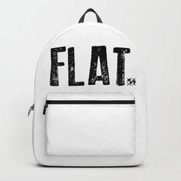 Flat Earth Backpack