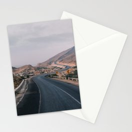 Way to the hills Stationery Cards