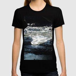 Laguna Beach Surf on the Rocks #1 T-shirt