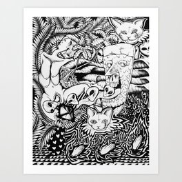 Birthing of the Ancients Art Print