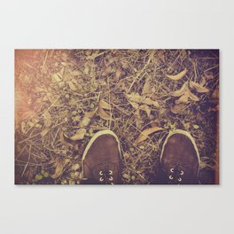 If I find love where I'm going, Will it survive me? Canvas Print