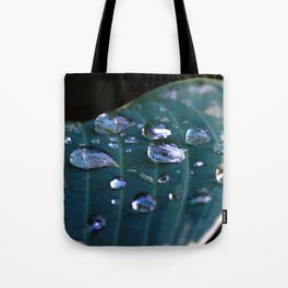 Story of a water drop Tote Bag