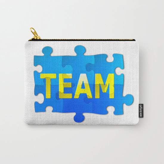 Team Jigsaw Puzzle Carry-All Pouch