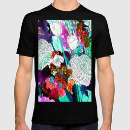 forest flowers 3 T-shirt
