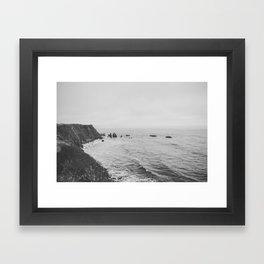 CALIFORNIA COAST II Framed Art Print
