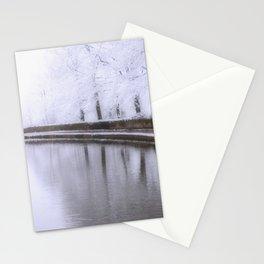 Snow Scene 2 Stationery Cards