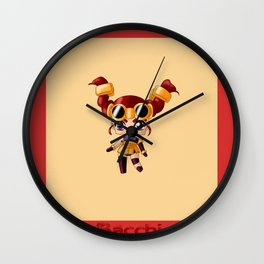Chibi Bacchi Wall Clock