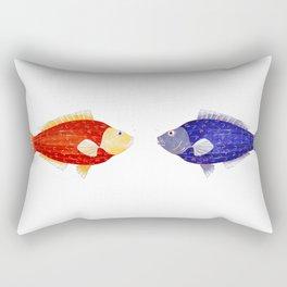 Lake fish Rectangular Pillow